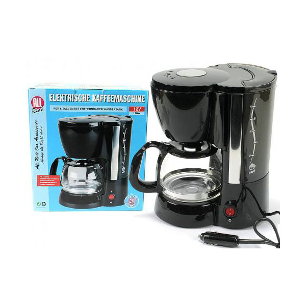 Kaffeemaschine 6 Tassen 12 Volt All Ride